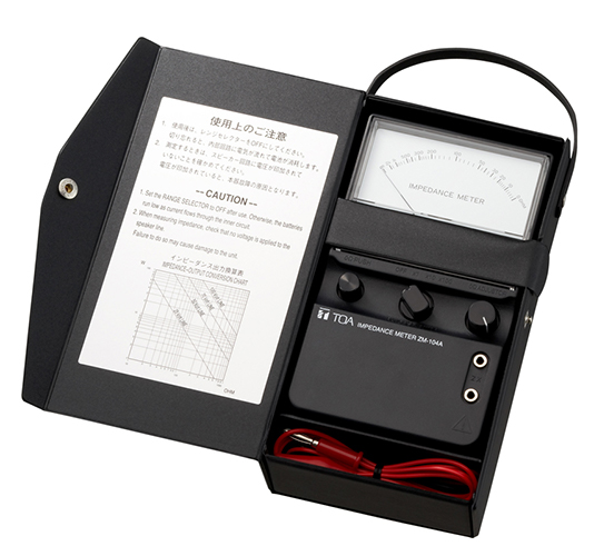 ZM-104A Impedance Meter