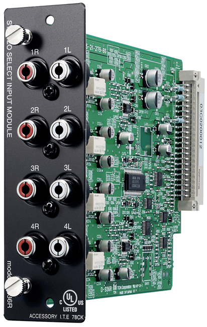 D-936R Stereo Select Input Module