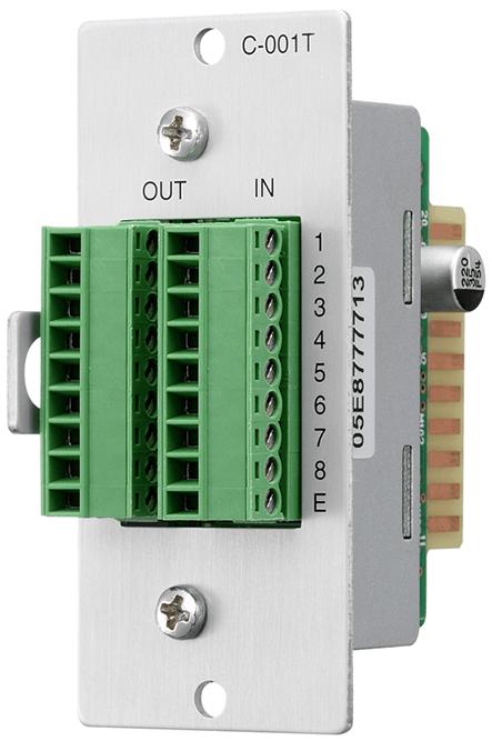Mô-đun ngõ vào/ra điều khiển: C-001T