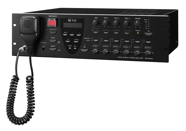 Tăng Âm Liền Mixer 6 Vùng Loa Công Suất 240W: VM-3240VA CE
