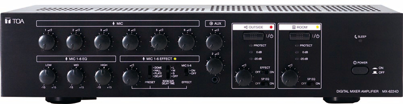 MX-6224D Digital Mixer Amplifier