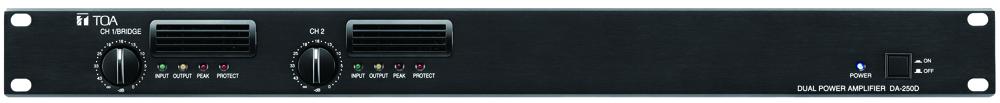Tăng âm số 2 kênh công suất 2x250W: DA-250D CE301