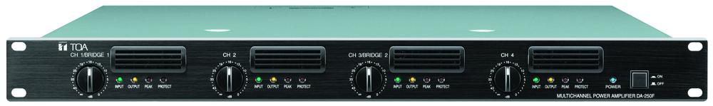 Tăng âm số 4 kênh công suất  4x250W: DA-250FH