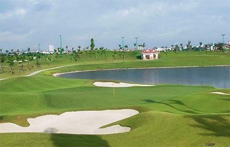 âm thanh Sân golf Long Biên