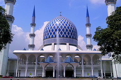 âm thanh Nhà thờ Hồi giáo Sultan Salahuddin Abdul Aziz